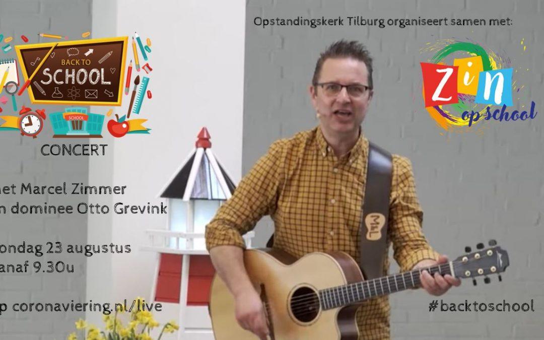 #Backtoschool met een feestelijk concert met Marcel Zimmer